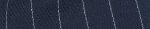 【Cb_8ss036】ライトネイビー+1.6cm巾白ストライプ