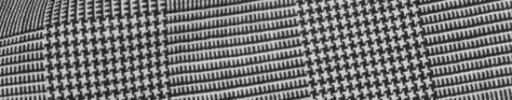 【Cb_8ss058】白黒5.5×4.5cmグレンチェック