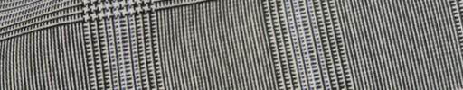 【Cb_8ss059】白黒4.5×3.5cmグレンチェック・極薄パープルプレイド