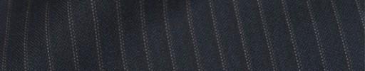 【Cb_8ss065】ダークブルーグレー柄+6ミリ巾織り・ドットストライプ