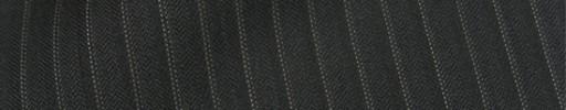 【Cb_8ss066】チャコールグレー柄+6ミリ巾織り・ドットストライプ