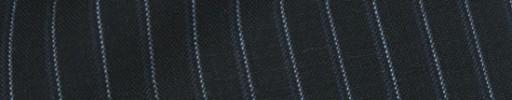 【Cb_8ss101】ダークネイビー+8ミリ巾白・グレーストライプ