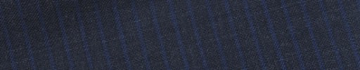【E_9s299】チャコールグレー+4ミリ巾ブルーストライプ