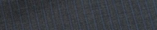 【E_9s300】ミディアムグレー+4ミリ巾ダスティーブルーストライプ