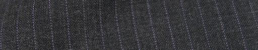 【IB_8s021】チャコールグレー+6ミリ巾パープル・織り交互ストライプ