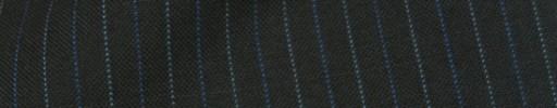 【IB_8s024】ブラック+1cm巾ブルー・ライトブルー交互ストライプ