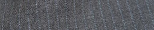 【IB_8s052】ライトグレー+4ミリ巾ライトブルー・織り交互ストライプ
