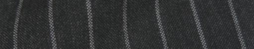 【IB_8s053】ダークグレー+1.3cm巾ボールドストライプ