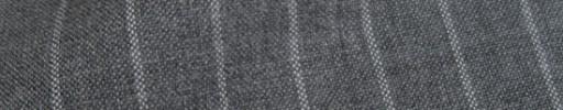 【IB_8s054】ライトグレー+1.3cm巾ボールドストライプ