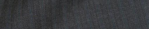 【IB_8s061】チャコールグレー柄+7ミリ巾グリーンストライプ
