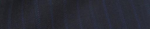 【IB_8s062】ダークネイビー+1.7cm巾ブル―交互ストライプ