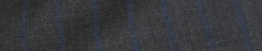 【IB_8s064】グレーヘリンボーン+1.2cm巾ブルーストライプ
