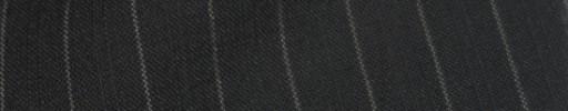 【IB_8s077】ブラック+1.1cm巾W織り・白交互ストライプ