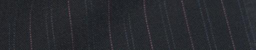 【IB_8s078】ネイビー+1.4cm巾ピンク・Wグリーン交互ストライプ