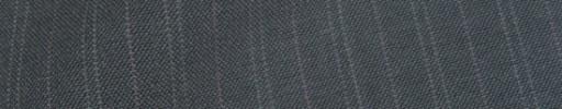 【IB_8s079】ミディアムグレー+1.4cm巾薄ピンク・W織り交互ストライプ