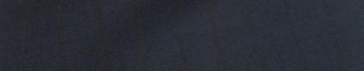 【IB_8s088】ネイビー+9ミリ巾黒織りストライプ