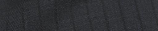 【IB_8s089】ダークグレー+9ミリ巾黒織りストライプ