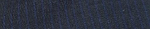 【IB_8s090】チャコールグレー+4ミリ巾ブルーストライプ