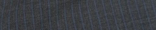 【IB_8s091】ミディアムグレー+4ミリ巾ダスティーブルーストライプ