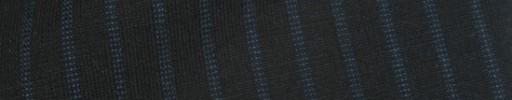【IB_8s099】ブラック+8ミリ巾ブルードットストライプ