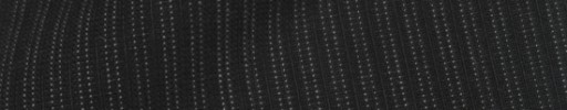 【IB_8s106】ブラック+5ミリ巾Wドット・織り交互ストライプ