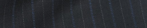 【IB_8s120】ダークグレー+1.2cm巾ブルー・グレー交互ストライプ