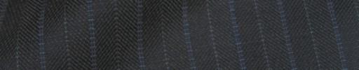 【IB_8s121】ミディアムグレー+1.2cm巾ブルー・グレー交互ストライプ
