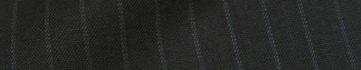 【IB_8s307】ブラック+9ミリ巾白ドットストライプ