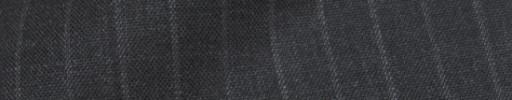 【IB_8s309】チャコールグレー+9ミリ巾白ドットストライプ