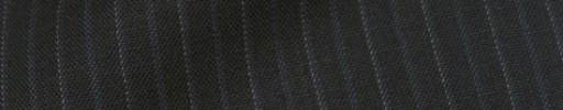 【IB_8s310】ブラック+1cm巾白ドット・織り交互ストライプ