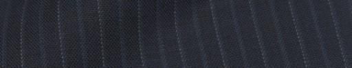 【IB_8s311】ネイビー+1cm巾白ドット織り交互ストライプ