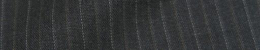 【IB_8s312】チャコールグレー+1cm巾白ドット・薄茶織り交互ストライプ