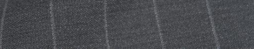 【IB_8s329】ミディアムグレー+1.8cm巾白ストライプ