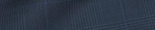 【IB_8s343】ライトネイビーグレンチェック+5.5×4.5cmブルーウィンドウペーン