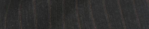 【IB_8s357】チャコールグレー+9ミリ巾エンジ×グレードット・織り交互ストライプ