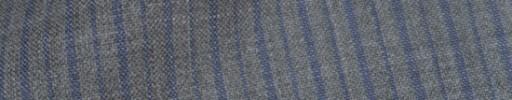 【IB_8s366】ライトグレー+9ミリ巾ライトブルーパープル交互ストライプ