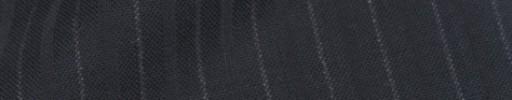 【IB_8s367】ダークネイビー+1.1cm巾白・織り交互ストライプ