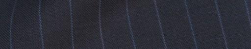 【IB_8s372】ダークブルーグレー+1.1cm巾ブルーストライプ