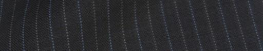 【IB_8s376】ダークグレー+1cm巾ブルー・白ドット交互ストライプ