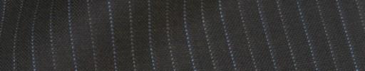 【IB_8s378】ブラウングレー+1cm巾ブルー・白ドット交互ストライプ