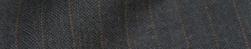 【IB_8s386】チャコールグレー+1cm巾ブラウンストライプ