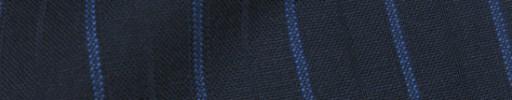 【IB_8s401】ネイビー+1.8cm巾ブルー・織り交互ストライプ