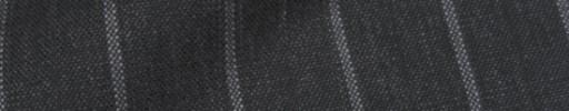 【IB_8s402】チャコールグレー+1.8cm巾白・織り交互ストライプ