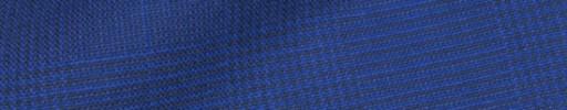 【IB_8s405】ブルーパープル5.5×4.5cmグレンチェック