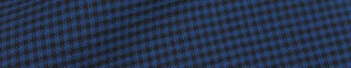 【IB_8s410】ブルー×ブラック2ミリミニチェック