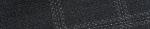 【Bs_0s106】チャコールグレー+4.5×3.8cm薄赤・白チェック