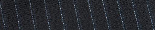 【Bs_0s109】ダークネイビー+8ミリ巾ライトブルー・織りストライプ