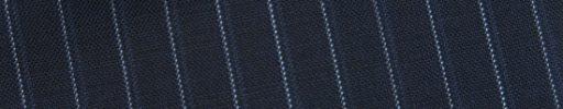 【Bs_0s110】ネイビー+8ミリ巾ライトブルー・織りストライプ