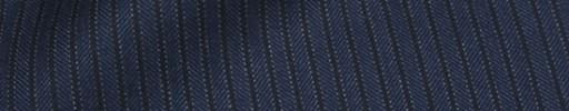 【Ca_81w005】ネイビー柄+4ミリ巾黒ストライプ