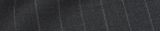 【Ca_81w014】チャコールグレー+1.6cm巾ストライプ